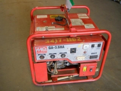 Used Equipment Sales GENERATOR, 3600 WATT,GAS,220V in Marquette MI