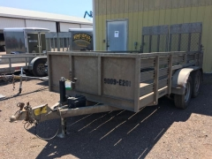 Used Equipment Sales TRAILER,OPEN,6X12 ,4.7K CAP,2 BALL,EB in Marquette MI