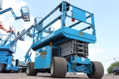 Used Equipment Sales SCISSOR LIFT,32-33 ,4WD,DIESEL,TURF TIRE in Marquette MI