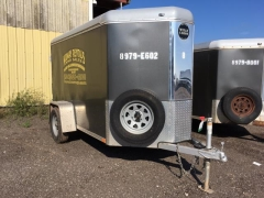 Used Equipment Sales TRAILER, CARGO, 5 X8 , V-FRONT in Marquette MI