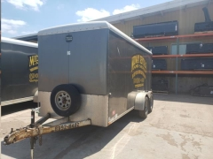 Used Equipment Sales TRAILER, CARGO, 6 X16 , SURGE BRAKES in Marquette MI
