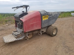 Used Equipment Sales POWER BUGGY,1 2YD GAS SCRUB in Marquette MI